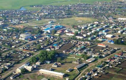 Посёлок Залари